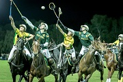 polocrosse game